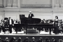 Dudley and Rena Fruchter perform at MFAS Benefit in Carnegie Hall 1996