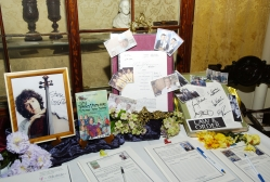 A selection of items on the silent auction at The Players