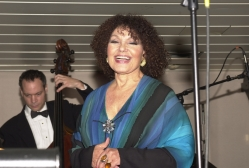 Dame Cleo Laine at an MFAS 2002 Benefit