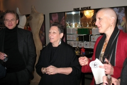 Doug Denoff, Judy Rodner and Dawn Upshaw at Bond No.9. for a Conversation