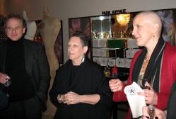 Doug Denoff, Judy Rodner and Dawn Upshaw at Bond No.9. for a Conversation