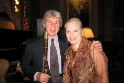 Richard Stoltzman and Nancy Shear at a Conversation