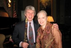 Richard Stoltzman and Nancy Shear at a Conversation