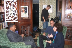 Wynton Marsalis talks with Anisa Mehdi and Jack Cuffari for a documentary on Music For All Seasons