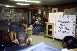 Curtis Berak and California musicians present a program at the McLaren Center for Children in Los Angeles