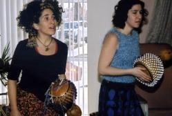 Lara Gonzalez and Yael Shacham present a program of African Drumming and Dance