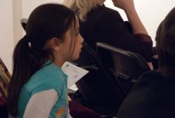 Young audience member enthralled by an MFAS progam